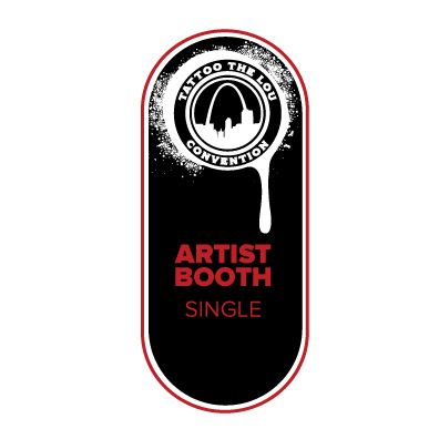 Tattoo Booth Single [ 2 artists ]