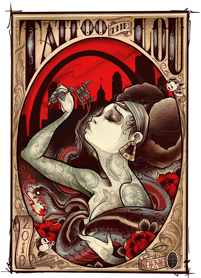 St. Louis Missouri Tattoo Convention | Tattoo The Lou - May 10-12, 2019